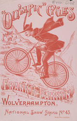 Advert for Olympic Cycles